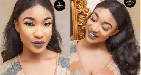 nollywood actress tonto dike tonto dike slays in beautiful makeup photos