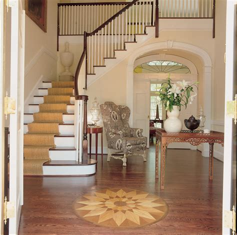 home design story stairs southern plantation house entry foyer with inlaid wood