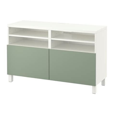 besta bench best 197 tv bench with doors white lappviken green ikea