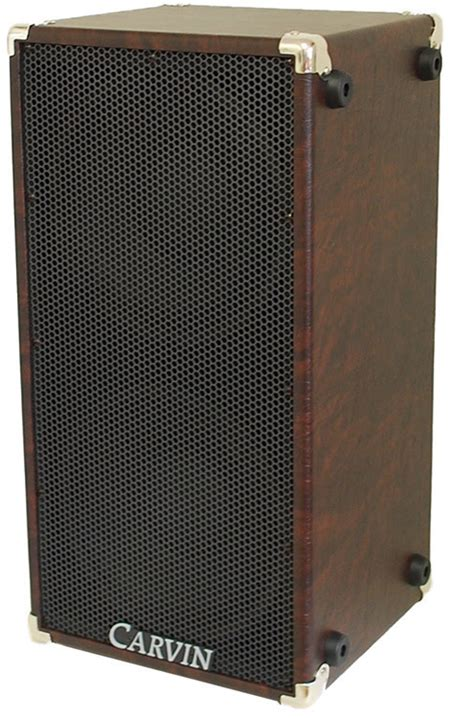 Cerwin Bass Cabinet by Carvin Bass Cabinet 210mbe Brown 2x10 Station