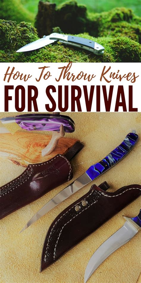 how to throw a knife how to throw knives for survival