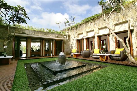 homes with courtyards ubud courtyard interior design ideas