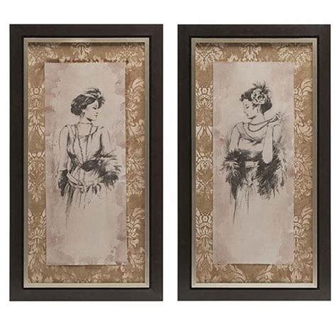 bianca home decor bianca framed art set of 2 imax wall art wall art home decor