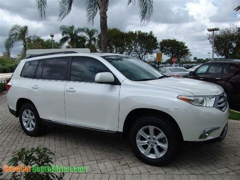 Toyota Highlander Used Cars 2012 Toyota Highlander Used Car For Sale In Greytown