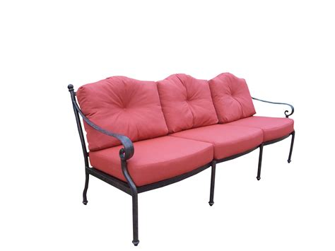 how to clean polyester couch cushions oakland living aluminum deep seating sofa with durable