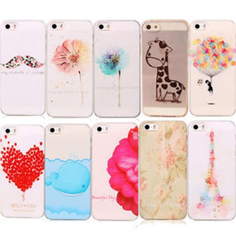 Beautiful Pattern Cover Hardcase Iphone 5 Iphone 5s lovely pattern painted phone back skin cover for iphone 5 5s ebay