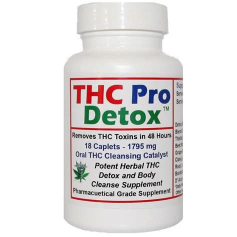 Home Detox For Thc by Thc Detox Thc Pro Detox 48 Hours To Cleanse Thc Toxins