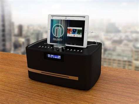 majority dab dab fm radio cd player alarm clock bluetooth