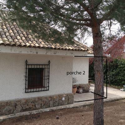 construir porche construir porche de obra para vivienda unifamiliar