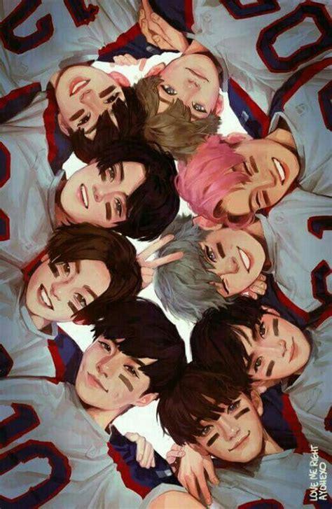 exo wallpaper fanart 129 best exo fan art images on pinterest kpop fanart