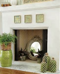 our favorite fillers for a cool summer fireplace how to