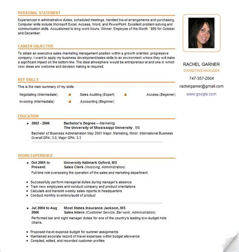 format cv canada 16 best business writing images on pinterest resume