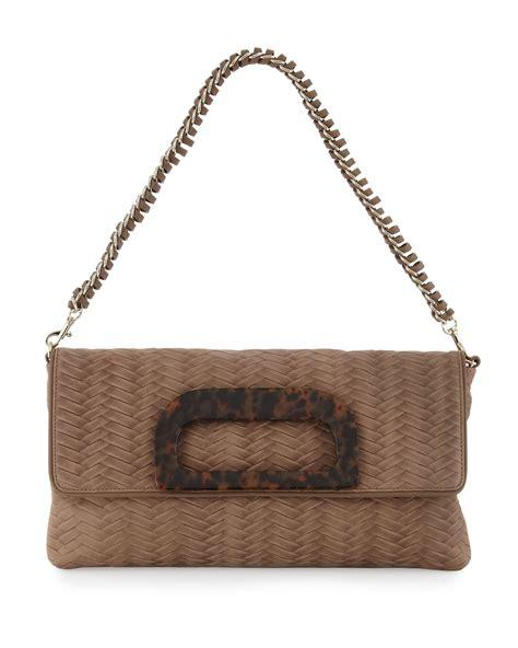 Gryson Shoulder Bag 2 by Elaine Turner Grayson Woven Leather Clutchshoulder Bag