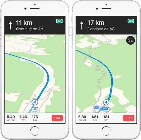 iphones compass  apple maps