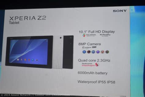 Pasaran Tablet Sony sony xperia z2 tablet xperia m2 xperia z1 compact dan xperia t2 ultra ke malaysia bermula