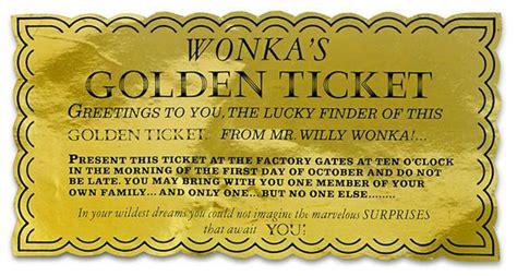 6 Golden Ticket Templates Word Excel Templates Golden Ticket Template