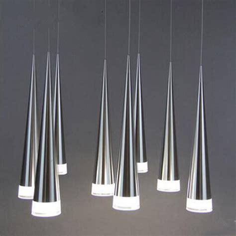Aluminum Pendant Light Modern Led Conical Pendant Light Aluminum Metal Home Industrial Lighting Hang L Dining Living