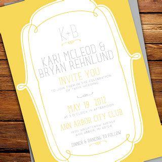 grey and yellow wedding invitations etsy kxo design new yellow grey wedding invitations