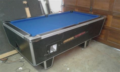 coin operated pool table for sale pretoria bar