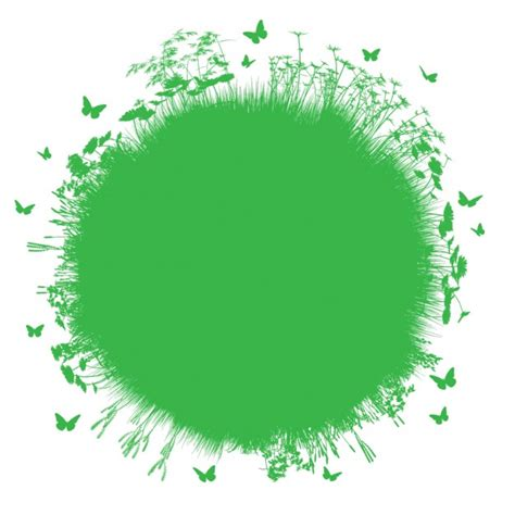 design green environment green environmental background vector free download