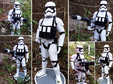 Papercraft Stormtrooper - order heavy stormtrooper papercraft by eko adinata