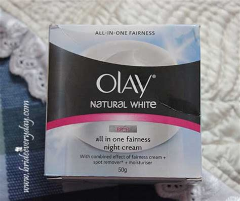Olay White Rich Day olay white rich all in one fairness review