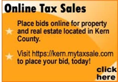 Kern County Property Tax Records Kern County Treasurer And Tax Collector