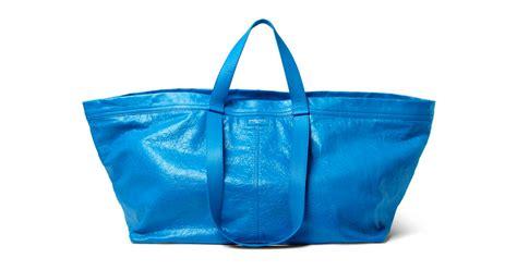 Tas Ikea dure designertas lijkt verdacht veel op blauwe zak ikea be