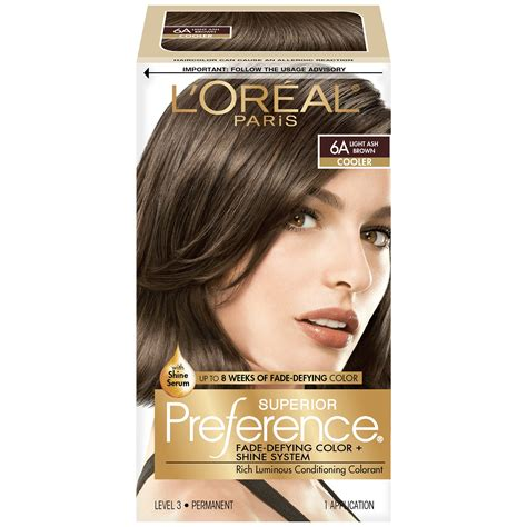 6a hair color l or 233 al excellence cr 233 me permanent hair