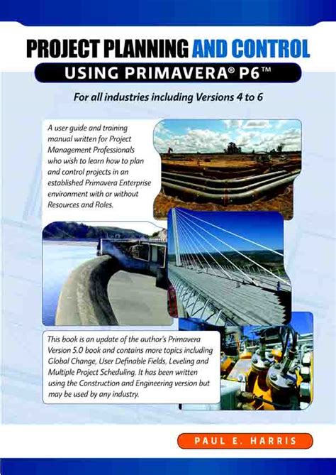 primavera p6 professional project management books project planning resource for primavera software