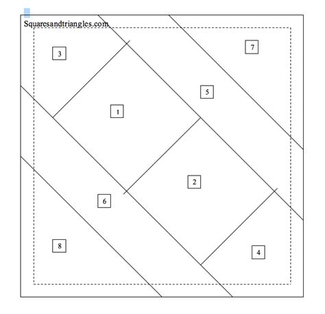 printable paper quilt patterns free paper piecing tutorial for a block with 2 5 in