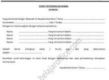 contoh surat archives page 2 of 4 belajar office