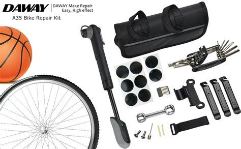amazoncom daway  bike repair kit  psi mini pump    bicycle multi tool