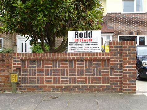 Bricklayers In Worthing Builders Worthing Front Garden Walls