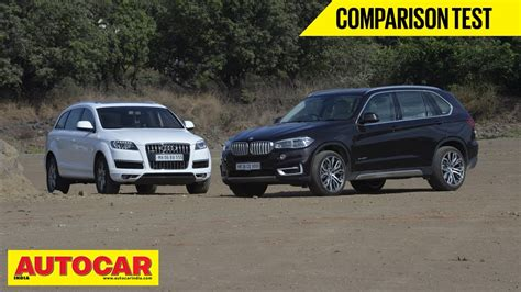 Bmw X5 Vs Audi Q7 by Bmw X5 Vs Audi Q7 Comparison Test Autocar India