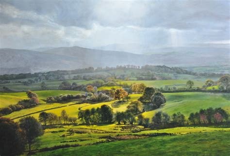 Landscape Artists Wales Paintings Harry Robertson Artist