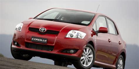 Toyota Australia Toyota Australia Adds Vsc To Corolla