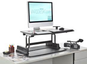 Adjustable Sitting Standing Desk Standing Desks Are Just The Beginning Adopting Other Healthy At Work Habits Varidesk Standing