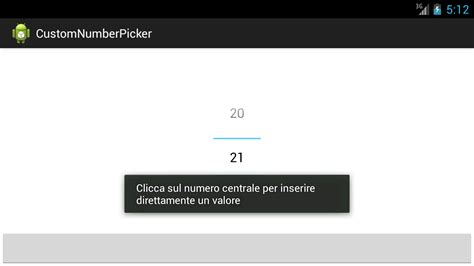 android numberpicker changed appearance stack overflow listener android numberpicker never pass from