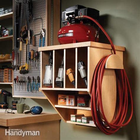 storing  compact compressor  family handyman
