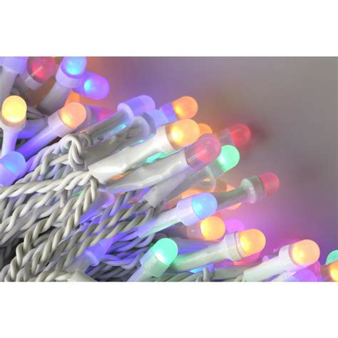 almond mm christmas lights novolink 200 light 8 mm mini globe multi color led icicle string lights with wireless smart
