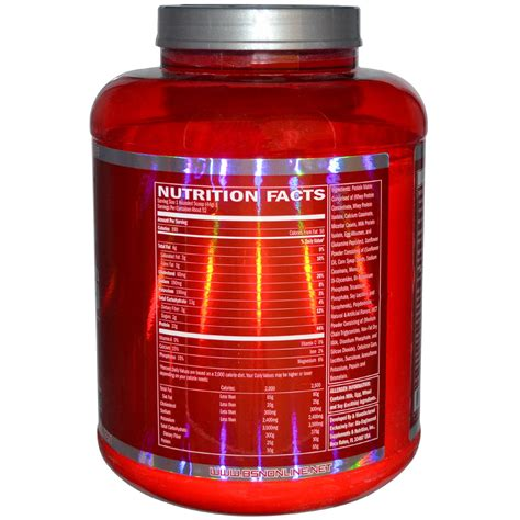 protein 6 year syntha 6 protein shake nutrition facts 7 years younger