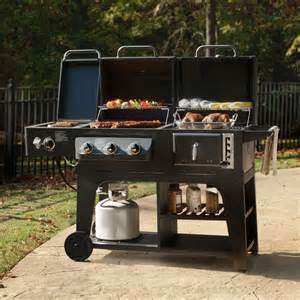 pit and grill combination charbon de gaz combo combinaison hybird barbecue barbecue