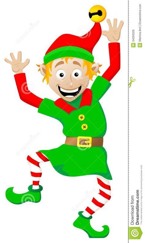 christmas elf  white background stock vector image