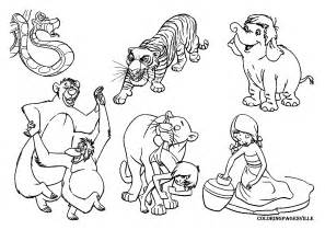jungle book coloring pages the jungle book coloring pages