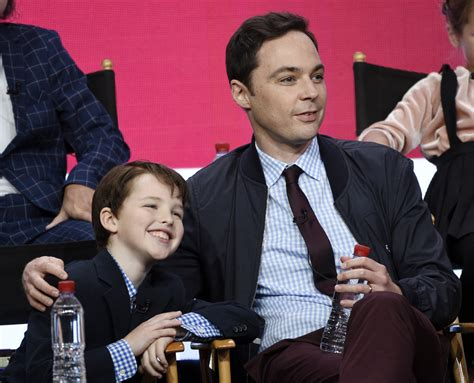 young sheldon actor age jim parsons hails young sheldon star as in taiwan news