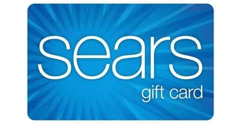 Sears E Gift Card - sears 175 for 200 gift card rare