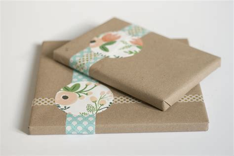 Craft Paper Gift Wrap - simple kraft paper gift wrap green diy