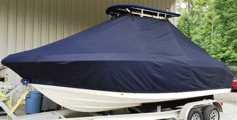 robalo boat covers ttopcovers t top boat cover elite 9oz fabric for robalo