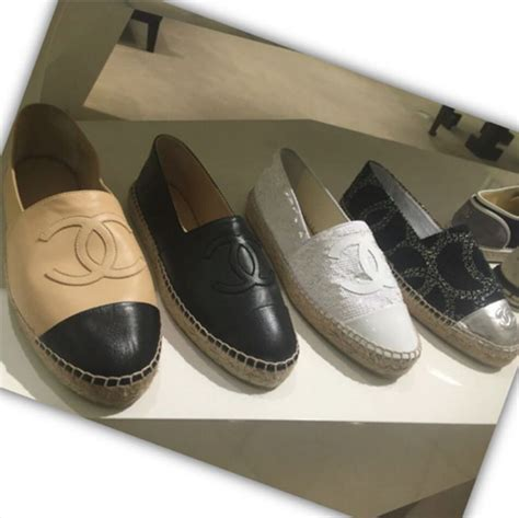chanel espadrilles for summer 2016 spotted fashion
